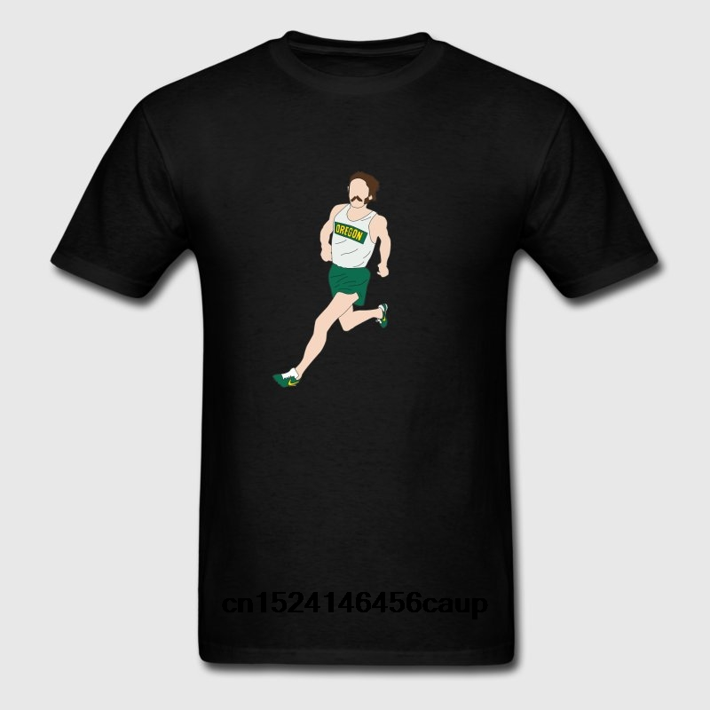 100 Cotton Neck Custom Printed Men T Shirt Prefontaine