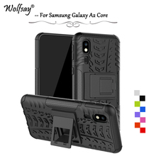 For Samsung Galaxy A2 Core Case Shockproof Armor Rubber Hard PC Phone Case For Samsung Galaxy A2 Core Cover For Samsung A2 Core стоимость