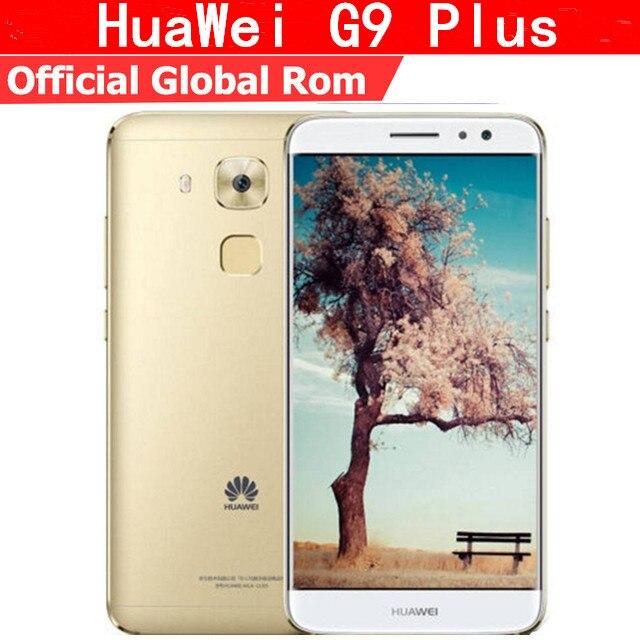 """Оригинальный HuaWei G9 плюс Nova Plus 4G мобильный телефон стандарта LTE на ОС Android 6,0 5,5 """"FHD 1920X1080 3 ГБ Оперативная память 32 ГБ Встроенная память отпечатков пальцев 16.0MP"""