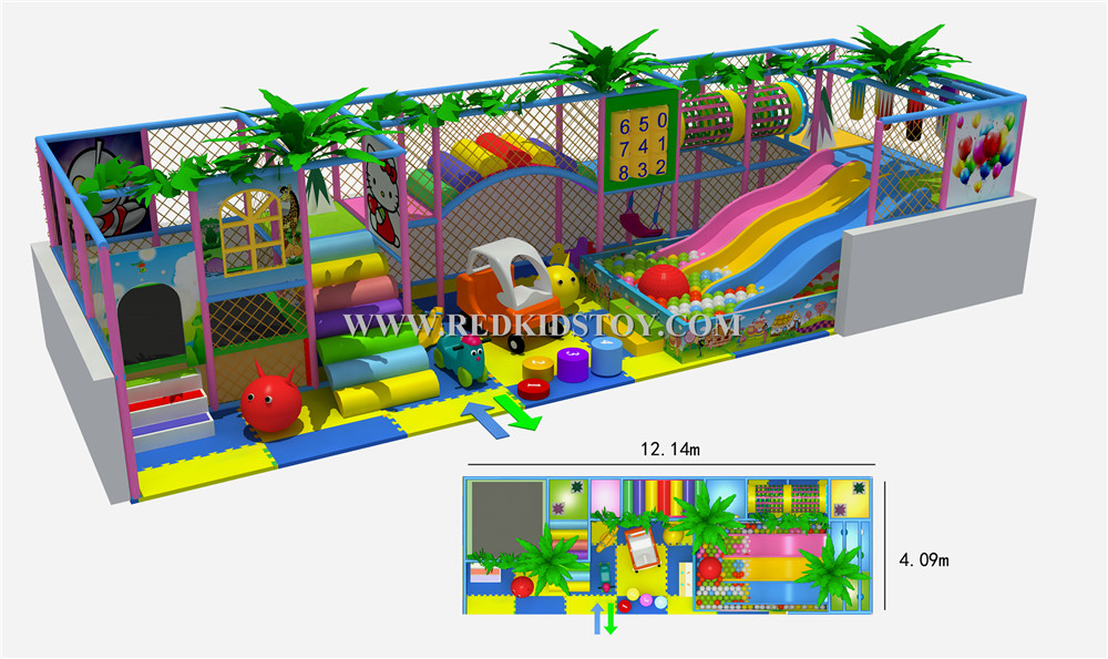 2015 CE Approved Supermarket Kids Indoor Playground Equipment ...