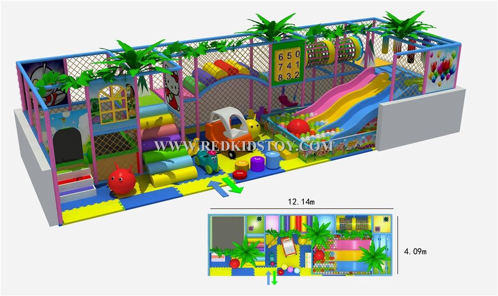 2015 Ce Genehmigt Supermarkt Kinder Indoor Spielger 228 Te