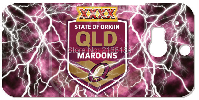 Queensland Maroons phone Cover For HTC one X M7 M8 M9 For Samsung Galaxy E5 E7 S3 S4 S5 Mini S6 S7 Edge Plus Note 3 4 5 Case