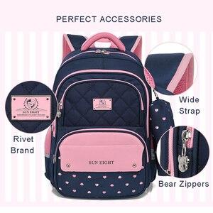 Image 4 - Children School Backpack School Bags For Teenage Girls Kids Backpack girl Childrens School Bag Orthopedic Back Mochila Escolar