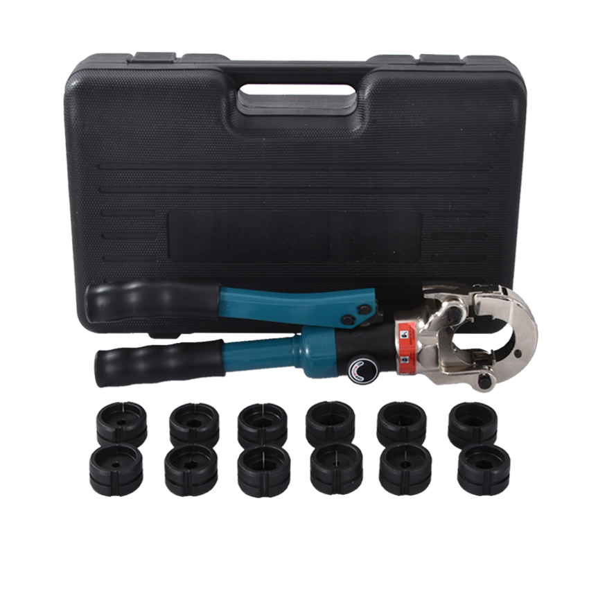Nouvelle haute qualité ensemble d'outils pince hydraulique GC-300 manuel hydraulique pince cuivre aluminium fil pince à sertir 60KN 10-300 carré
