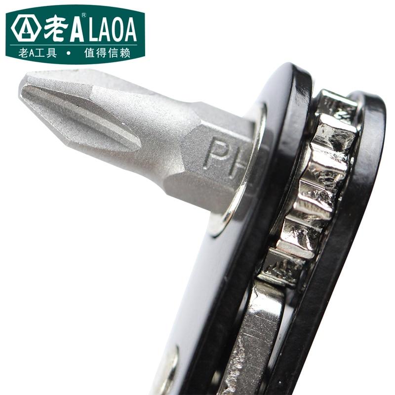 Многофункционален отвертка LAOA 10 в 1 - Набори от инструменти - Снимка 4