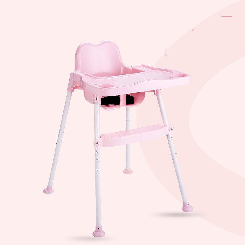 Portable bébé enfants chaise haute rehausseur siège bébé réglable manger Table à manger chaise assise bébé chaise pour l'alimentation