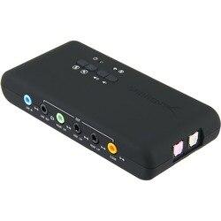 Envío Gratis PCI agregar tarjetas Cmi-6206 Chipset tarjeta de sonido USB2.0 7,1 Con SPDIF y Cable de extensión USB soporte de activación remota