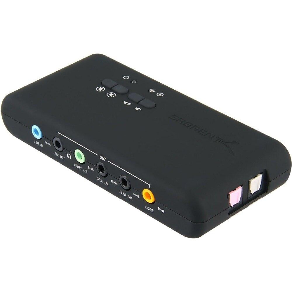 Livraison gratuite PCI ajouter des cartes Cmi-6206 Chipset USB2.0 7.1 carte son avec câble d'extension SPDIF et USB support de réveil à distance