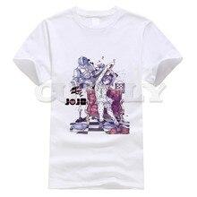 2019 New T-shirt Round Neck Jojo Bizarre Adventure Thsirt Cool Japan Anime Cartoon Summer Dress Men Tee Pop Boy Funny T Shirt
