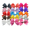28pcs/pack New fashion  girls  ribbon bow hairclip   girl's butterfly boutique hairpin/hairgrips  hair wear children accessories