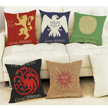 45cm Game of Thrones family logo stuffed plush toy 2016 New Ice and Fire Songs Power