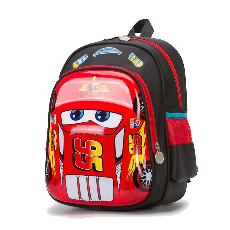 Image 2 - 3D Racing car bag orthopedics school bags for Boy Children waterproof School bag Teenager Schoolbags Kids Student BackpacksSchool Bags   -