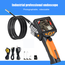 Car Maintenance Pipeline Industrial Endoscope HD Camera Auto Repair Detection 8.2mm Waterproof Probe