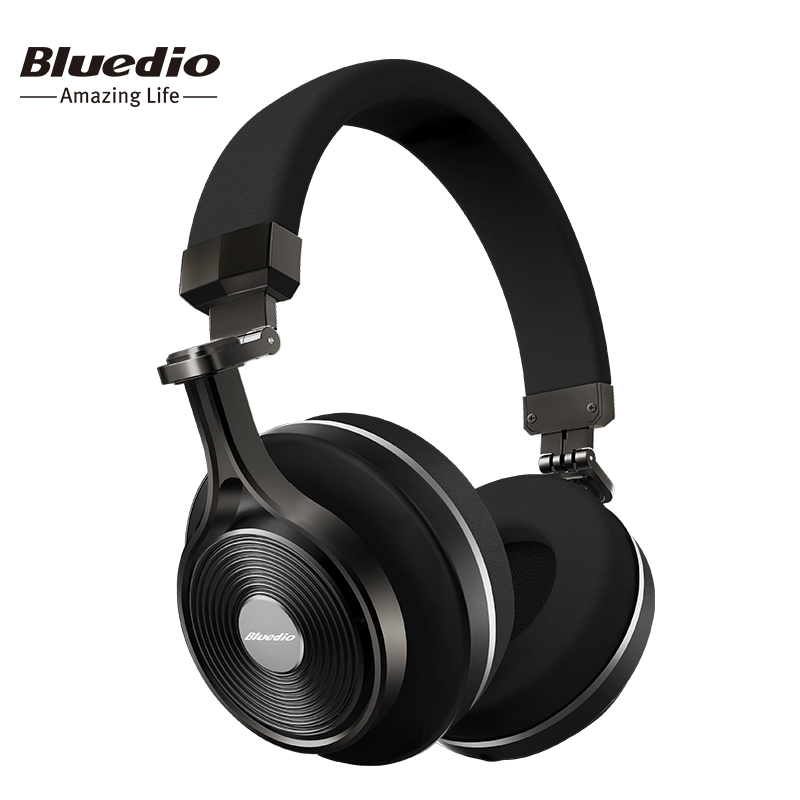 bluedio t3 wireless bluetooth headphones headset with microphone for music wi. Black Bedroom Furniture Sets. Home Design Ideas