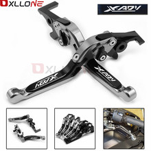 With Laser logo For HONDA XADV 750 Motorcycle CNC brake Clutch Levers X-ADV 2017 2018 High Quality