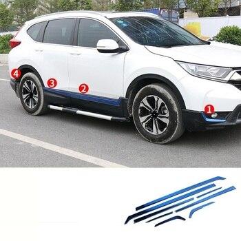 Auto Body Exterieur Excent Auto Auto Automovil Chroom Accessoire Covers Modificatie Onderdelen Sticker 17 18 19 VOOR Honda CRV