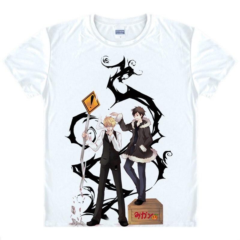 Durarara 3way standoff Camisetas kawaii camiseta japonesa del animado  orihara izaya heiwajima shizuo Cosplay camisetas 43540281268 33 7dbb99657c2f