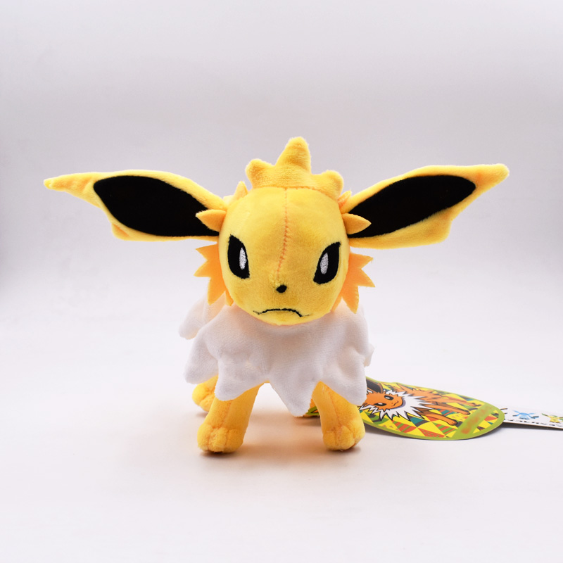 15cm Doll Kawaii Standing Jolteon Plush Toy Stuffed Peluche Toys Dolls Gifts For Children Free Shipping