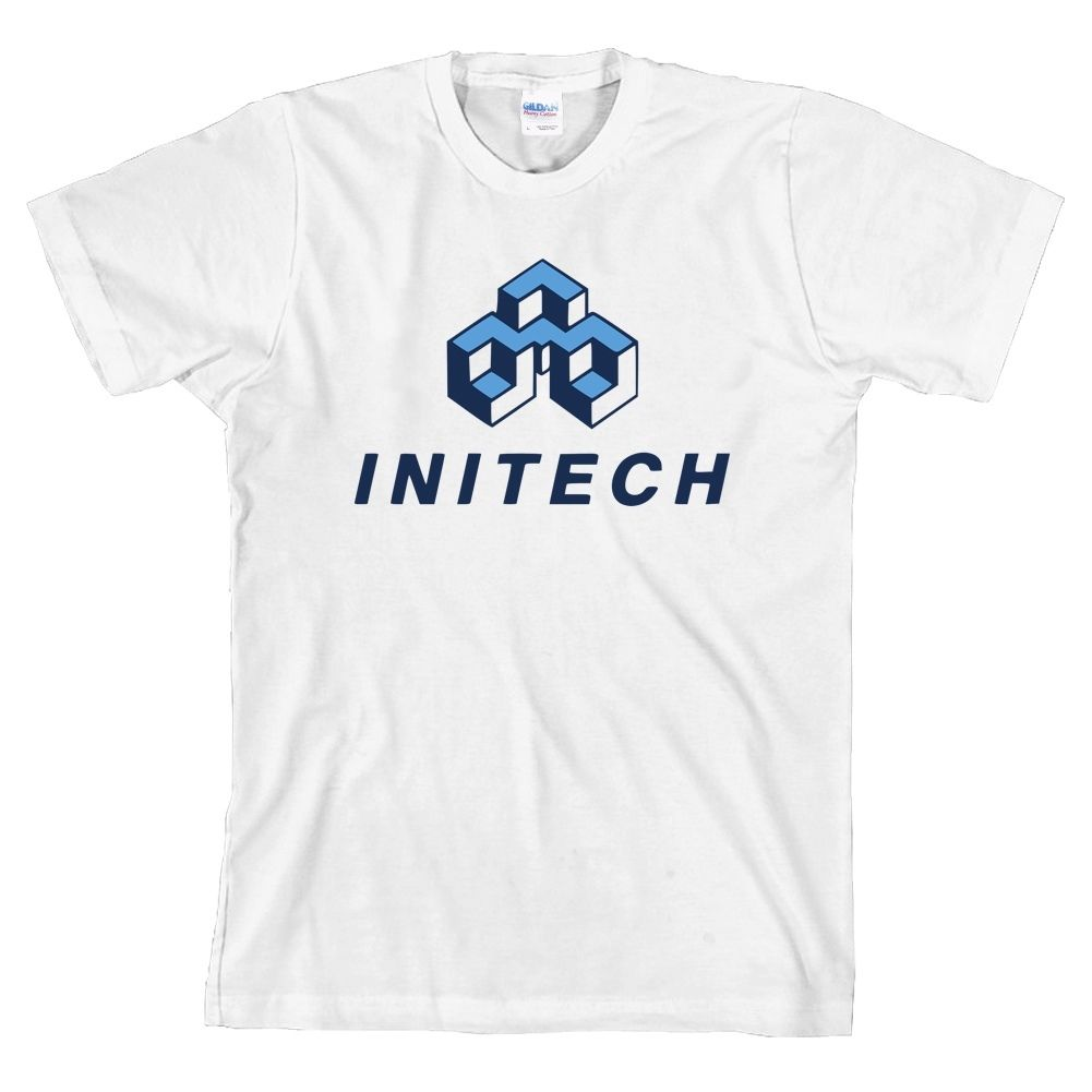 Initech Office Space Movie T-Shirt Tee ALL SIZES & NEW image