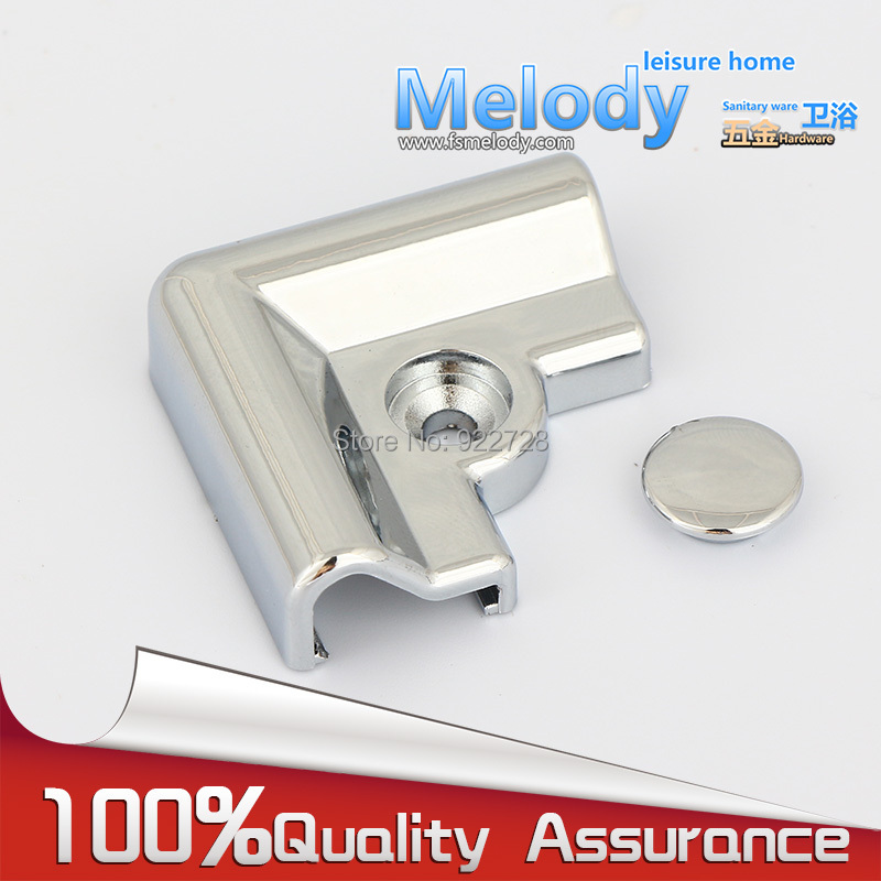RP051-90C Bath room fittings Ground profile block Aluminum Water retaining bar Shower screen parts