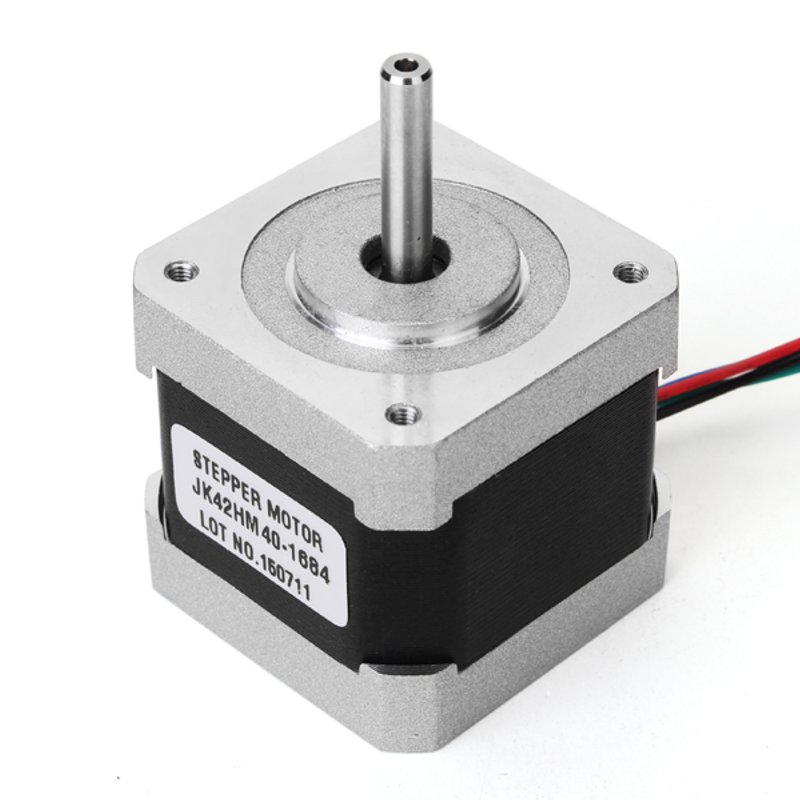 NEMA17 0.9 Degree 42 Two Phase Hybrid Stepper Motor 40mm 1.68A For CNC Router Hot Sale high quality 5pcs lot 1m dupont line two phase hx2 54 4pin to 6pin terminal motor connector cables for 42 stepper motor