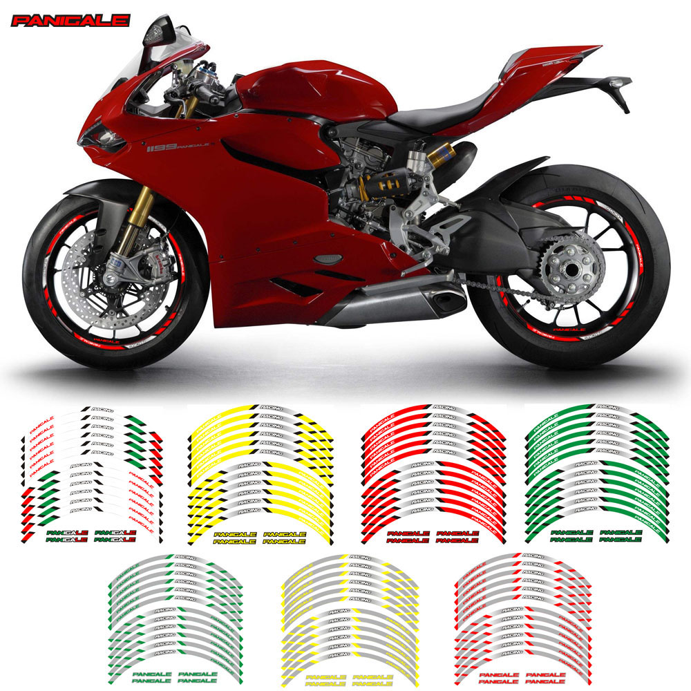 Speed Outer Rim Liner Stripe for Ducati Panigale Gloss Red
