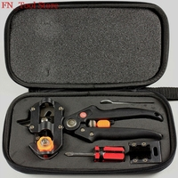 New Package Grafting Machine With 2 Blades Tree Grafting Tools Secateurs Scissors Vaccination Knife Cutting Pruner