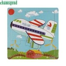 Высокое Качество Деревянных Самолетов Головоломки Игрушки Для Детей Образование И Обучение Головоломки Игрушки Aug12