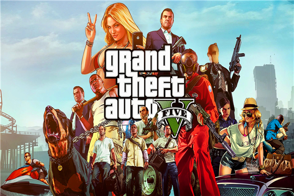 Custom Canvas Art Grand Theft Auto V Poster GTA San Andreas Game Wallpaper Kids Wall Stickers Mural Christmas Decoration #809#