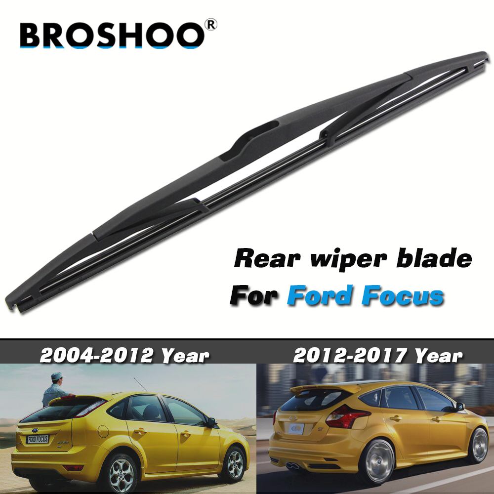 Car Rear Wiper Blade For Ford Focus 2 MK2 2004-2011 For Ford Focus 3 MK3 2012-2017 Auto Windshield Windscreen Rear Window Blades
