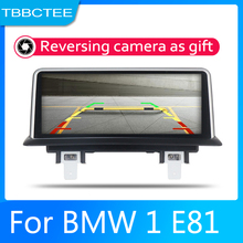 купить Android 2 Din Car radio Multimedia Video Player auto Stereo GPS MAP For BMW 1 E81 E82 2005-2012 Media Navi Navigation дешево