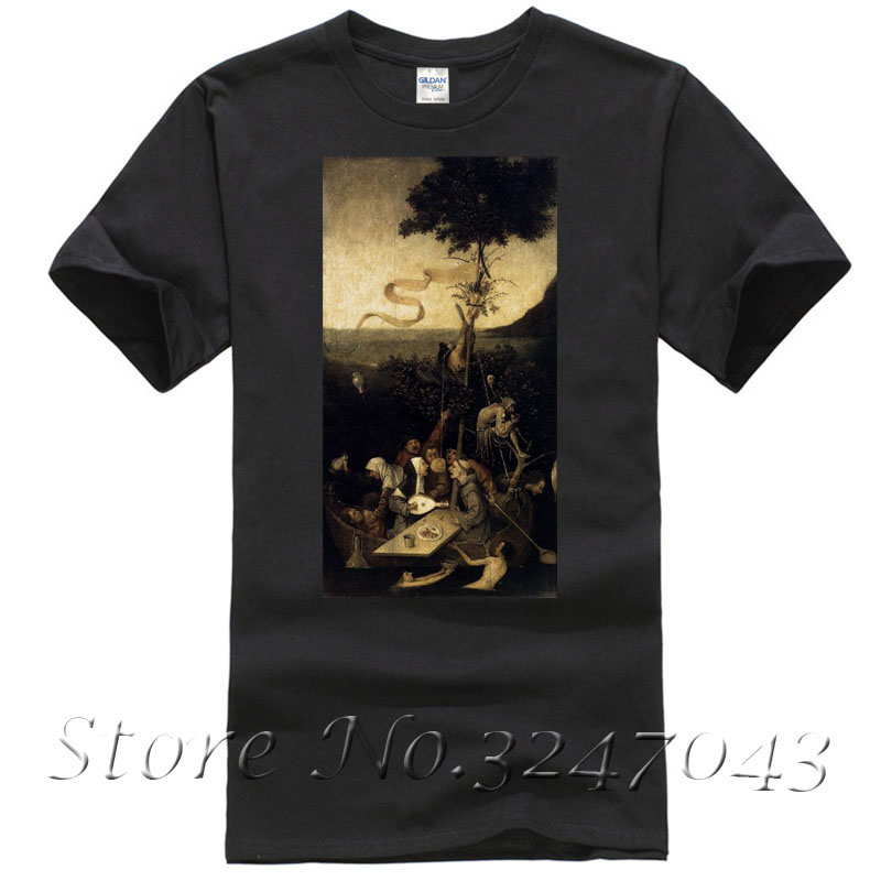 The Ship Of Fools T Shirt By Hieronymus Bosch Men's T-shirt