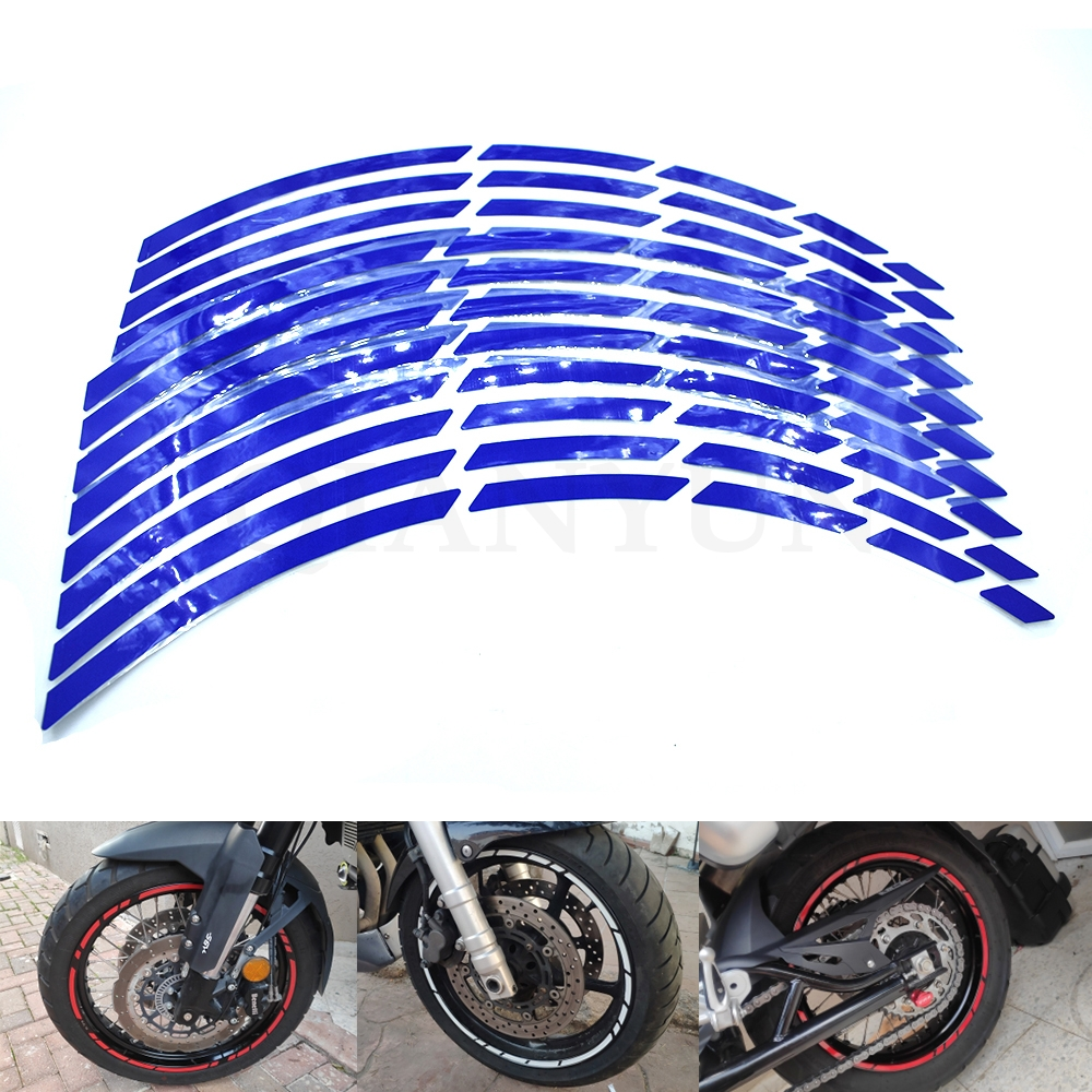 USEN Sticker wheel Rim Yamaha Tracer 900 Red strip tape vinyl adhesive