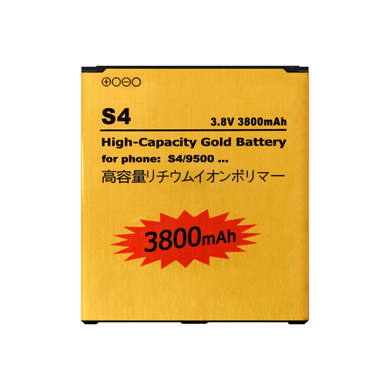 Original ABV Gold Replacement Battery for Samsung Galaxy S4 i9500 i9505 i337 i545 i9295 9500 B600BE B600BC iphone battery