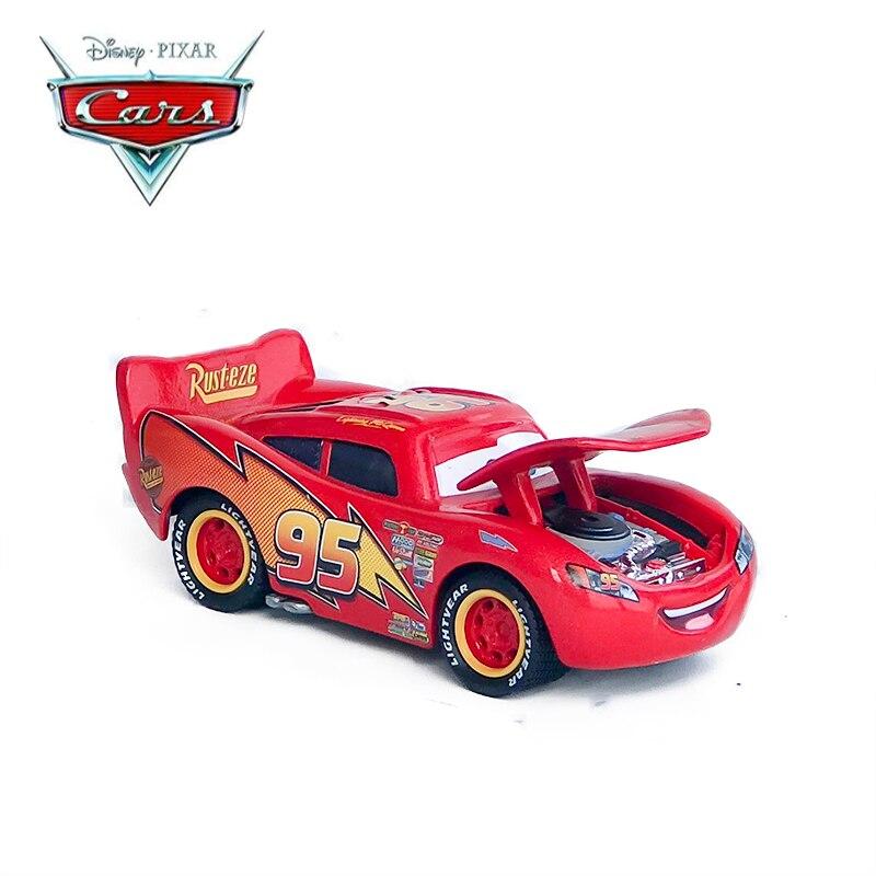 Disney Pixar voitures moulé sous pression Rare version spéciale précision McQueen voitures Disney voiture jouet grande Collection enfant meilleur Festival cadeau