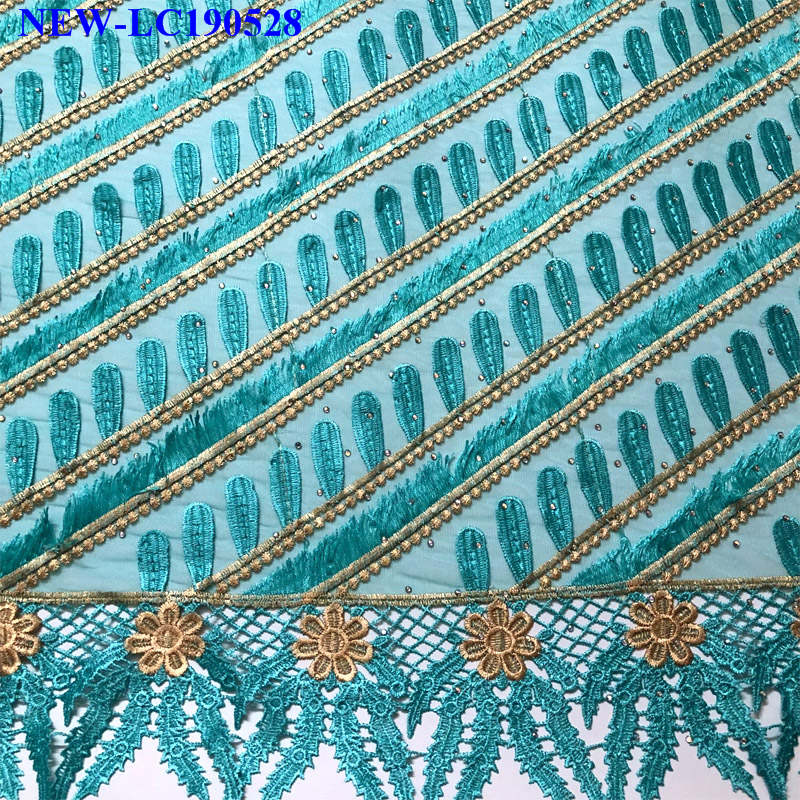 Tissu dentelle africaine 2019 strass lacets nigérians tissu de mariée de haute qualité Tulle français dentelle tissu pour les femmes robe KKC00-in Dentelle from Maison & Animalerie    2