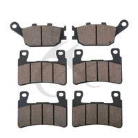 6 PCS Motorcycle Rear Front Brake Pads For HONDA CBR 600 F4 F4i Sport CBR 929