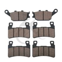 6 PCS Motorcycle Rear Front Brake Pads For HONDA CBR 600 F4 F4i Sport CBR 929