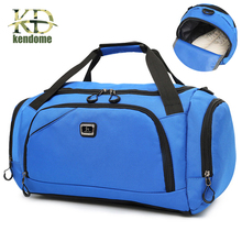 538e31bc61 Men s Outdoor Waterproof Sports Gym Bag Leisure Yoga Fitness Shoulder Bag  Women Travel Handbag Training Portable