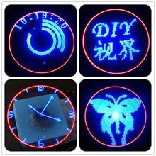 Rotating Plane Rotation LED Suite POV MCU Suite DIY Electronic Clock Pa