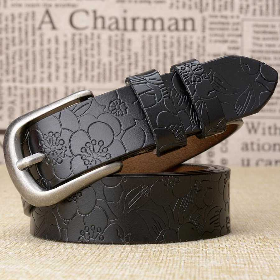 Fashion Leather Belts For Women Ladies Belt New Women Leather Belts Female Waistband Width:2.8,length:95-110cm