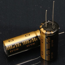 Condensador de audio nichicon electrolítico, gran oferta, 10 Uds./30 Uds., japoneses nuevos, original, KZ 2018 Uf/50V, Envío Gratis, 1000