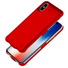 Portable Charging Case For iphone X Ultra Silm 5200mAh Battery Power Bank for Charger iPhone 10