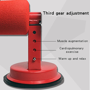 Image 4 - gym fitness Sit Up Bars Abdominal Core Workout Strength Training Adjustable Assistant Equipment Stand Self Suction for Gym Home
