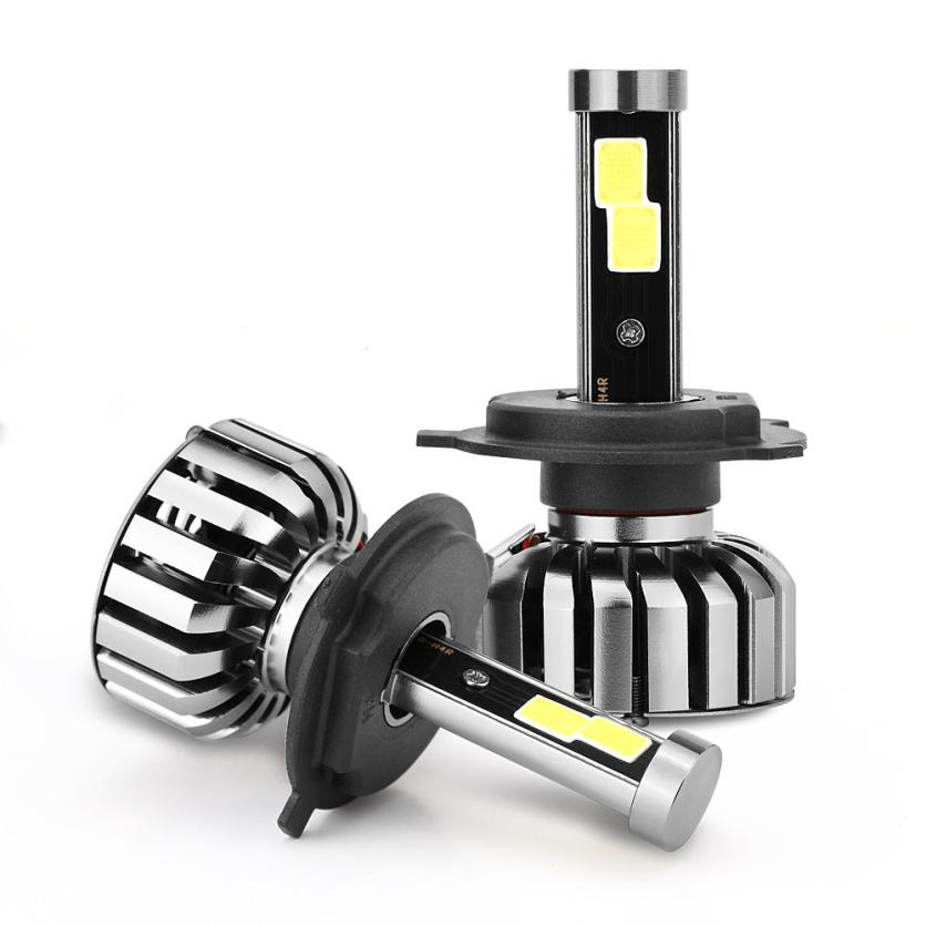 Car-styling H4 HB2 80W 8000LM COB LED Headlight Kit Hi/Lo Beam Bulbs 6000K td914 dropship