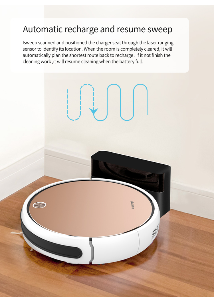 HTB1Dn0zay 1gK0jSZFqq6ApaXXab Isweep X3 Robot Vacuum Cleaner APP Control 1800 PA Wet and Dry Home Sweeper Auto Recharge EU Plug English Version Gift 2 Brush
