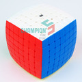 MoYu 7x7x7 Aofu Puzzle Cube Stickerless Transparent And Z-bright Colorscheme Educational Cubo magico Toys