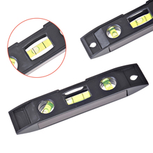Level-Measure-Tools Spirit-Level Magnet Ruler Torpedo Plastic Black