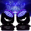 Ship From Germany 2pcs Lot 36x12W RBGW Red Green Blue White LED Zoom Wash Effect