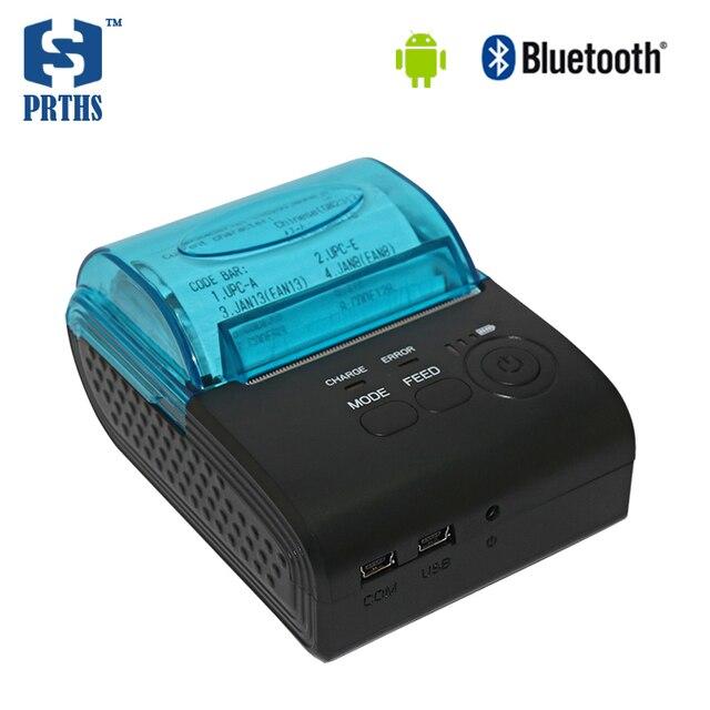 58 мм impressora bluetooth карманный принтер с Android SDK поддержка 57*50 мм рулон бумаги для такси мобильный pos печать чеков 590A